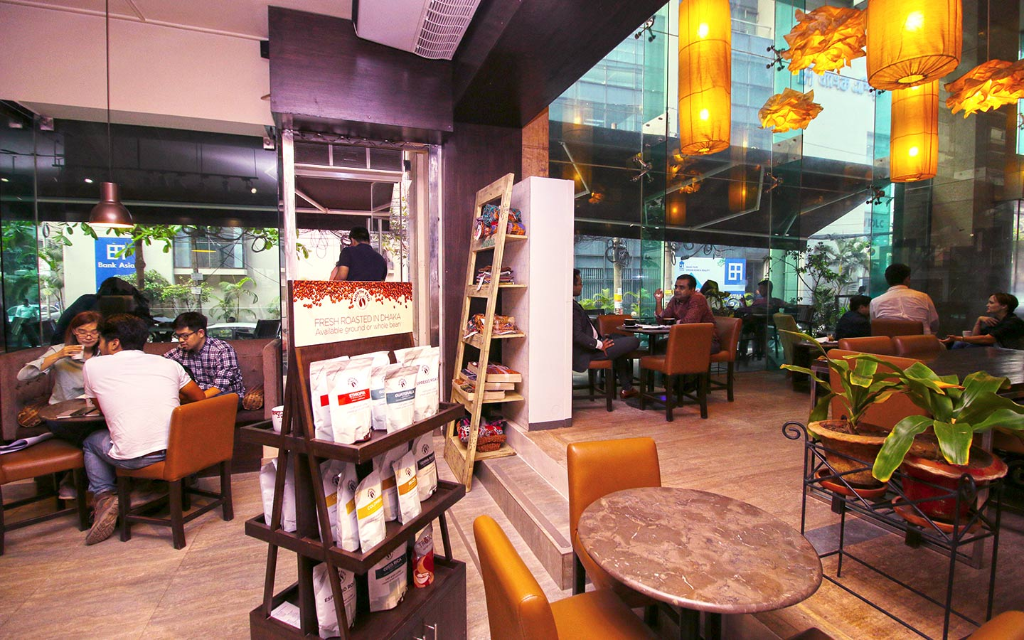 Coffee Shop - North End Coffee Roasters at Gulshan
