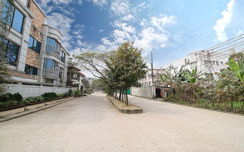 wide view of the residential area in Nikunja