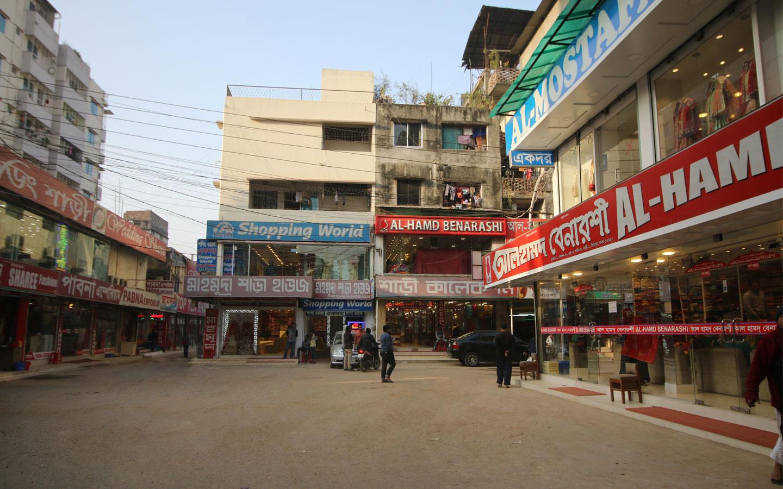 Mirpur saree market