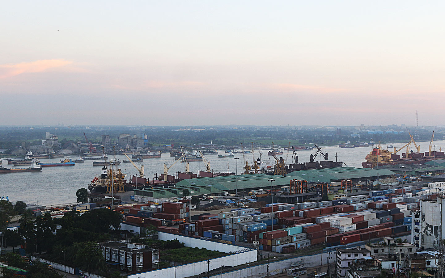 One of the busiest container ports of Agrabad