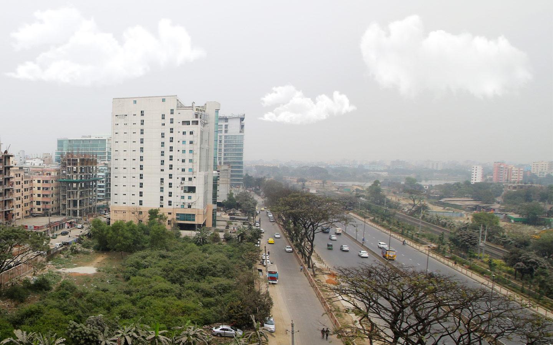 Cityscape view of Nikunja