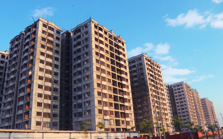 Picture of apartments in uttara