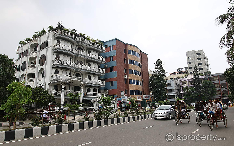 Wide view of Uttara Sector no 3