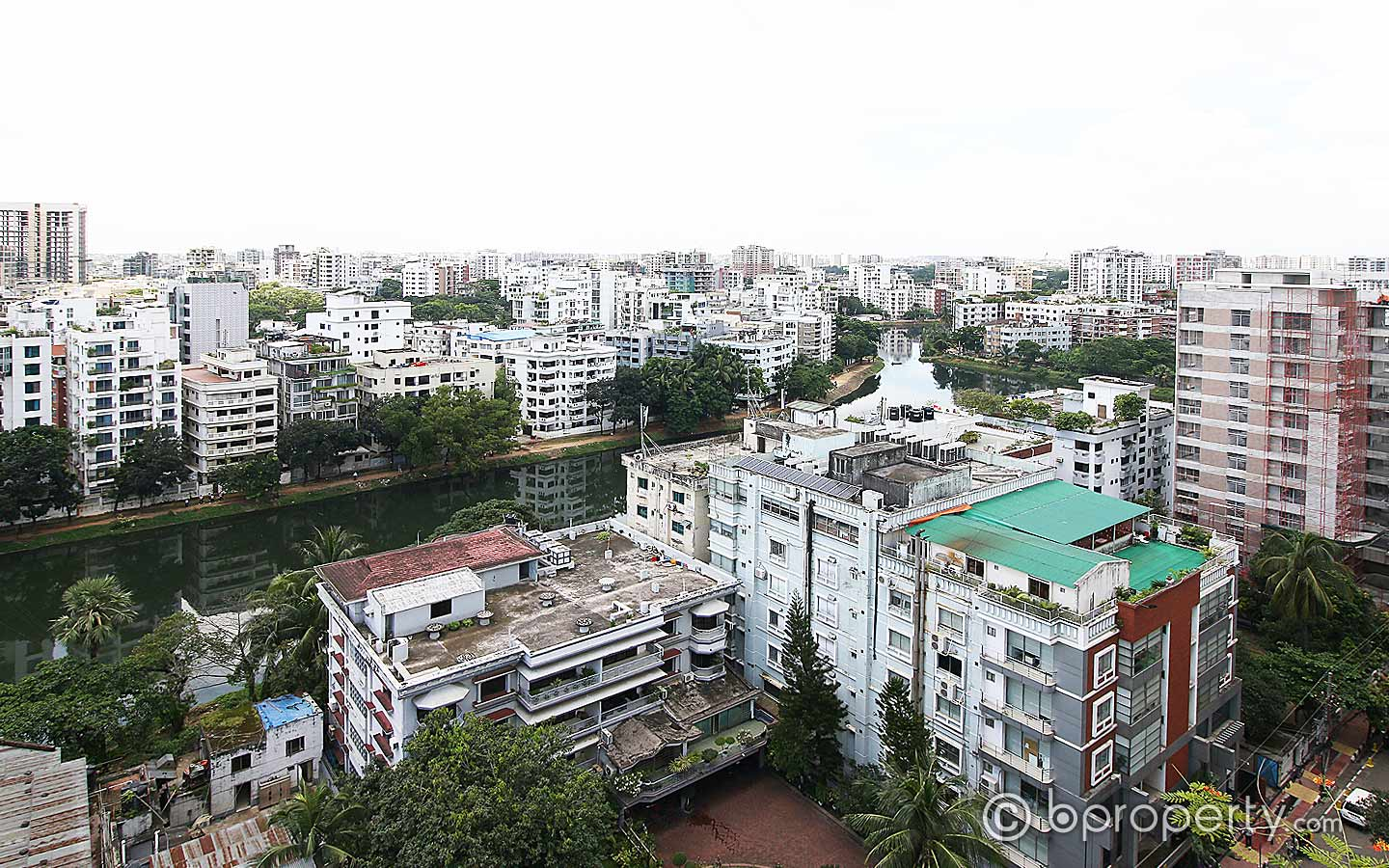 Cityscape view from Gulshan area
