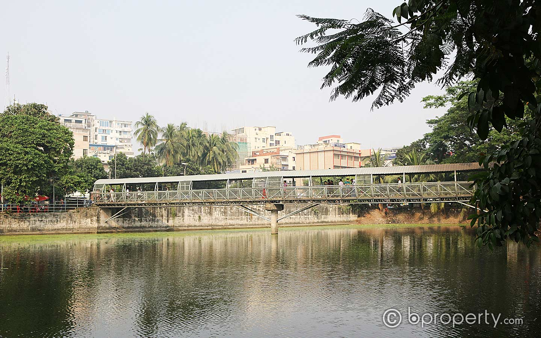 Dhanmondi lake view near to Dhanmondi no 32