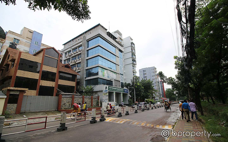 View of Block A, Bashundhara R/A
