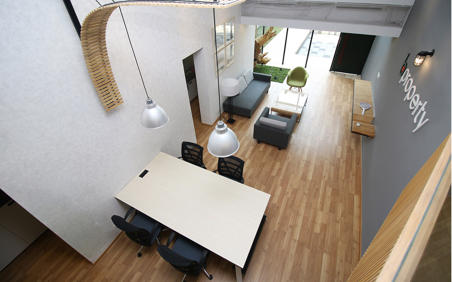 The banani office interior of Bproperty