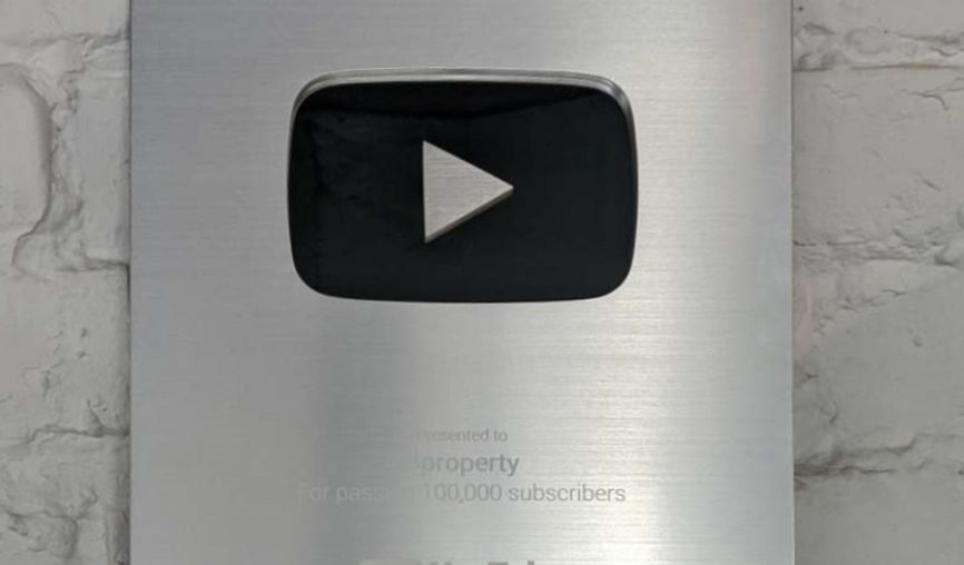 How The Bproperty Youtube Channel Got the Silver Play Button
