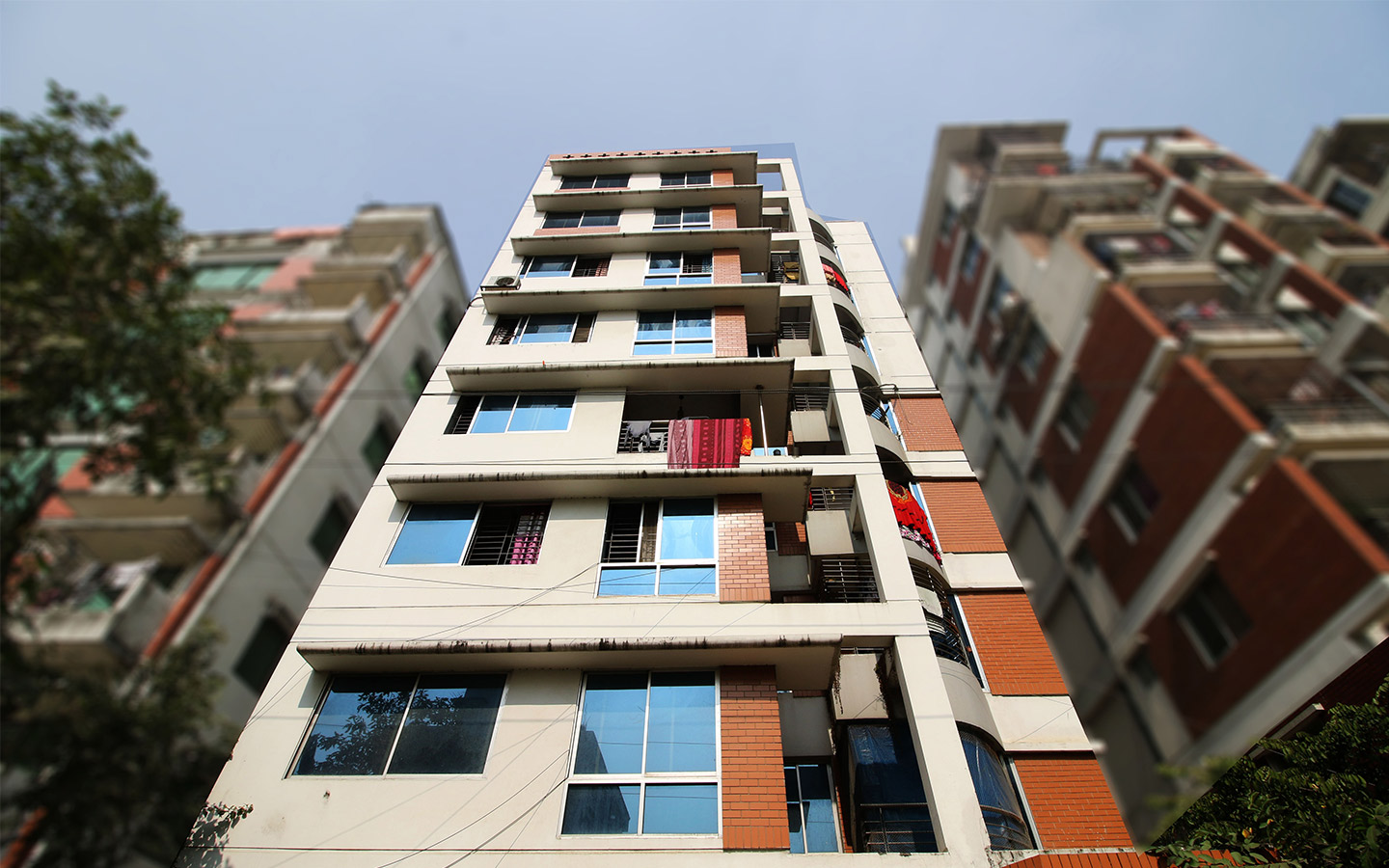 one of the affordable apartments in Bashundhara