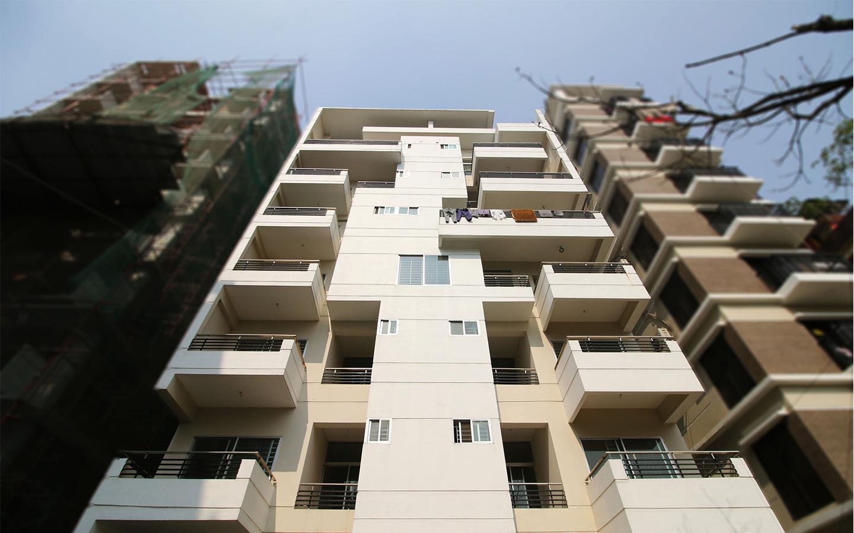 Bashundhara block D apartment