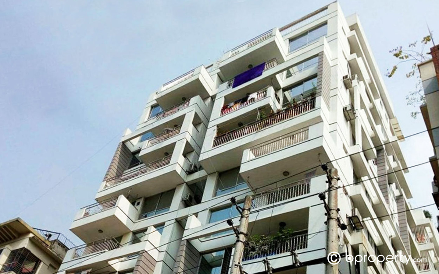 A residential apartment in Shyamoli