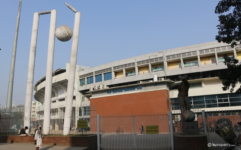 SHER-E-BANGLA NATIONAL CRICKET STADIUM one of the best landmarks in mirpur