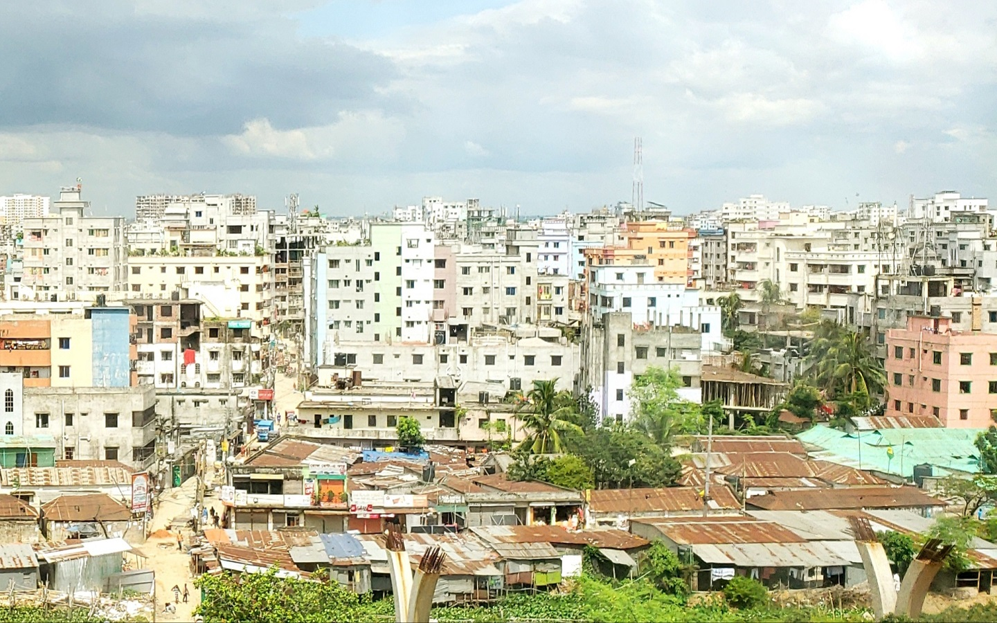 Messiness is also one of the biggest challenges of Dhaka city