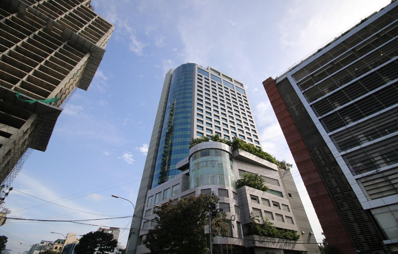 Tall buildings in Gulshan