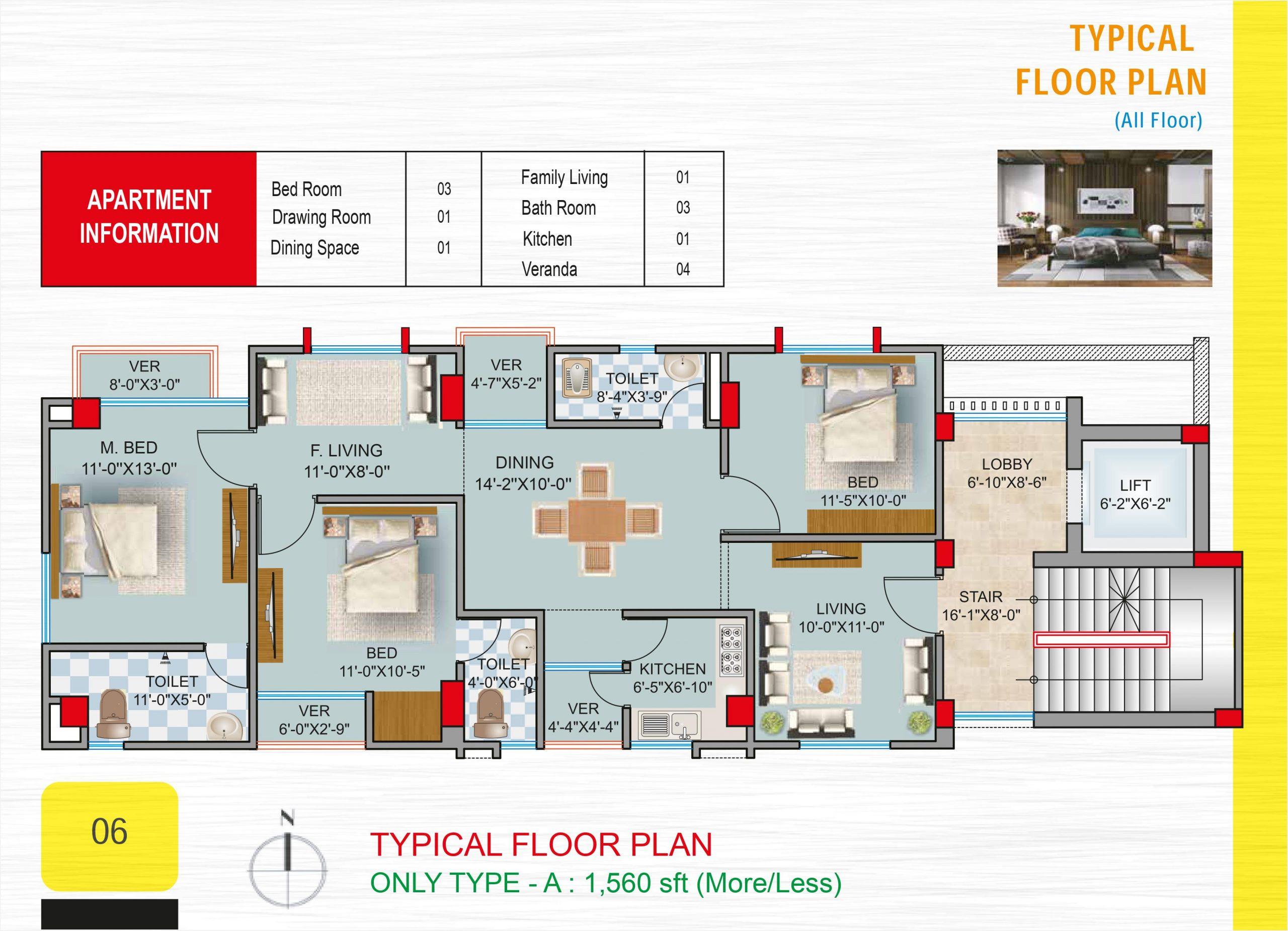 Geo Shaily Garden Floor Plan