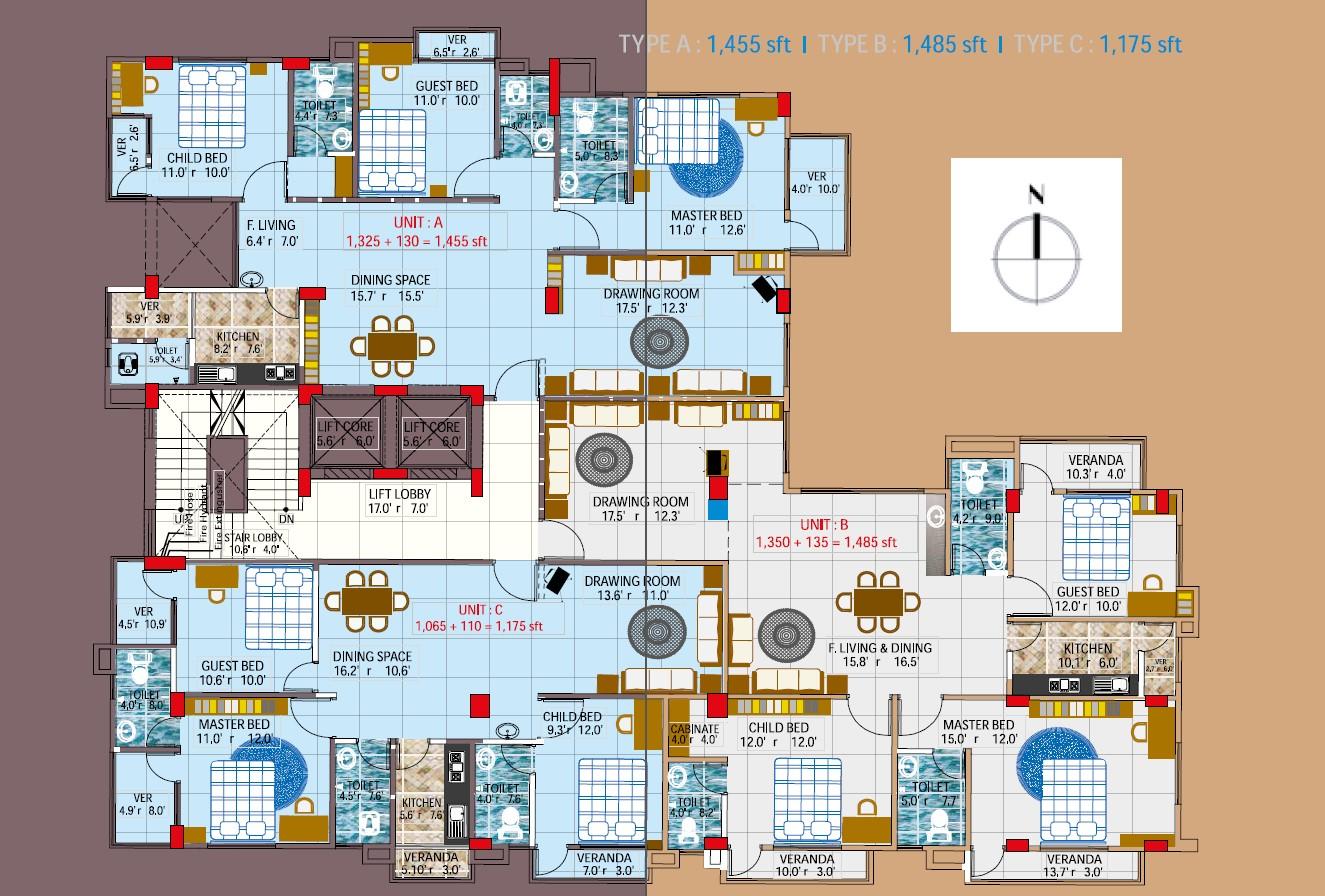 Geo Al Mansur Palace Floor Plan