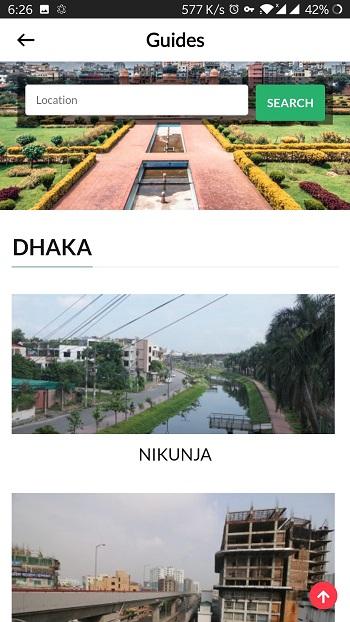 Area guide