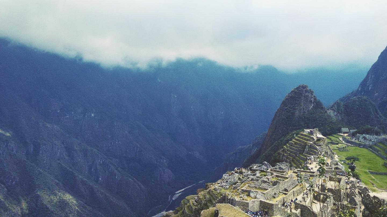 Incan ruins