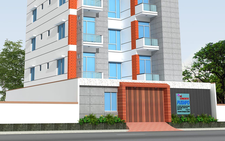 Concrete Puspa: Your Perfect Family Home In Uttara