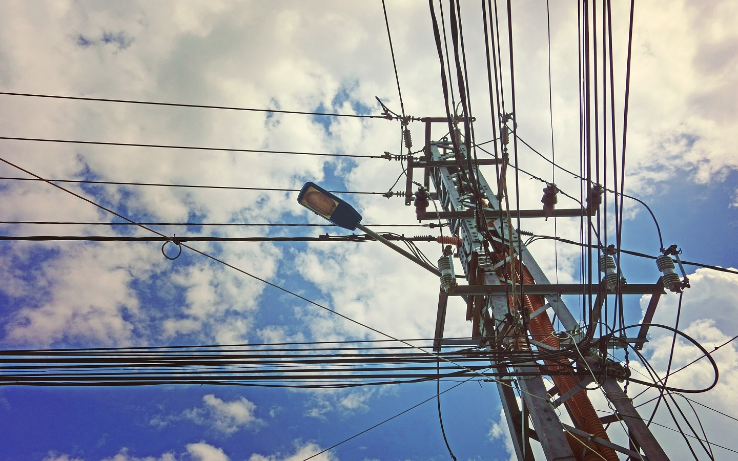 Wires and poles