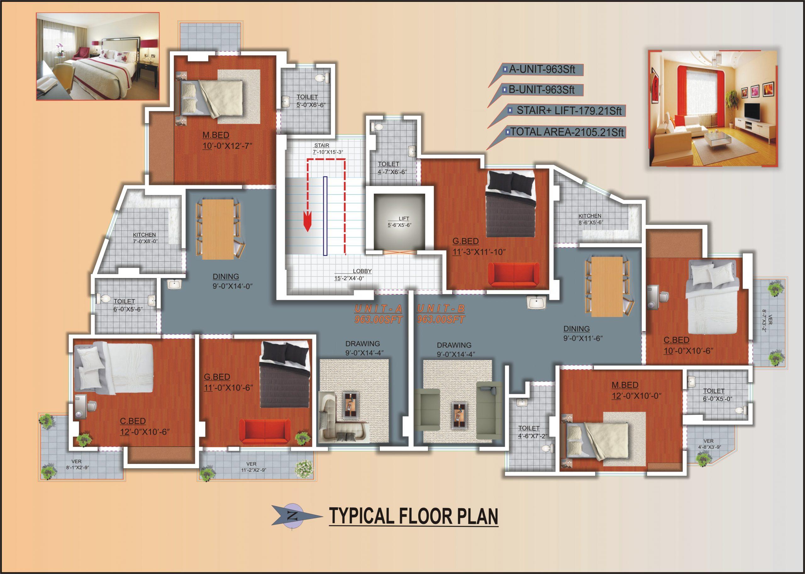 Soiltech Rahmania Garden Floor Plan