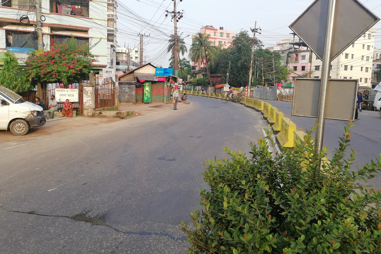 Zakir hossain road