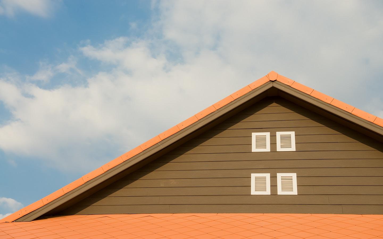 open gable rooftop