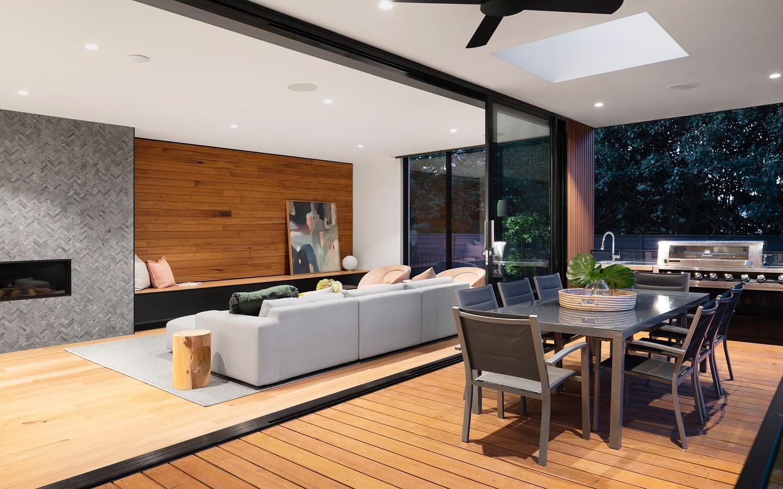 interior of a hybrid home