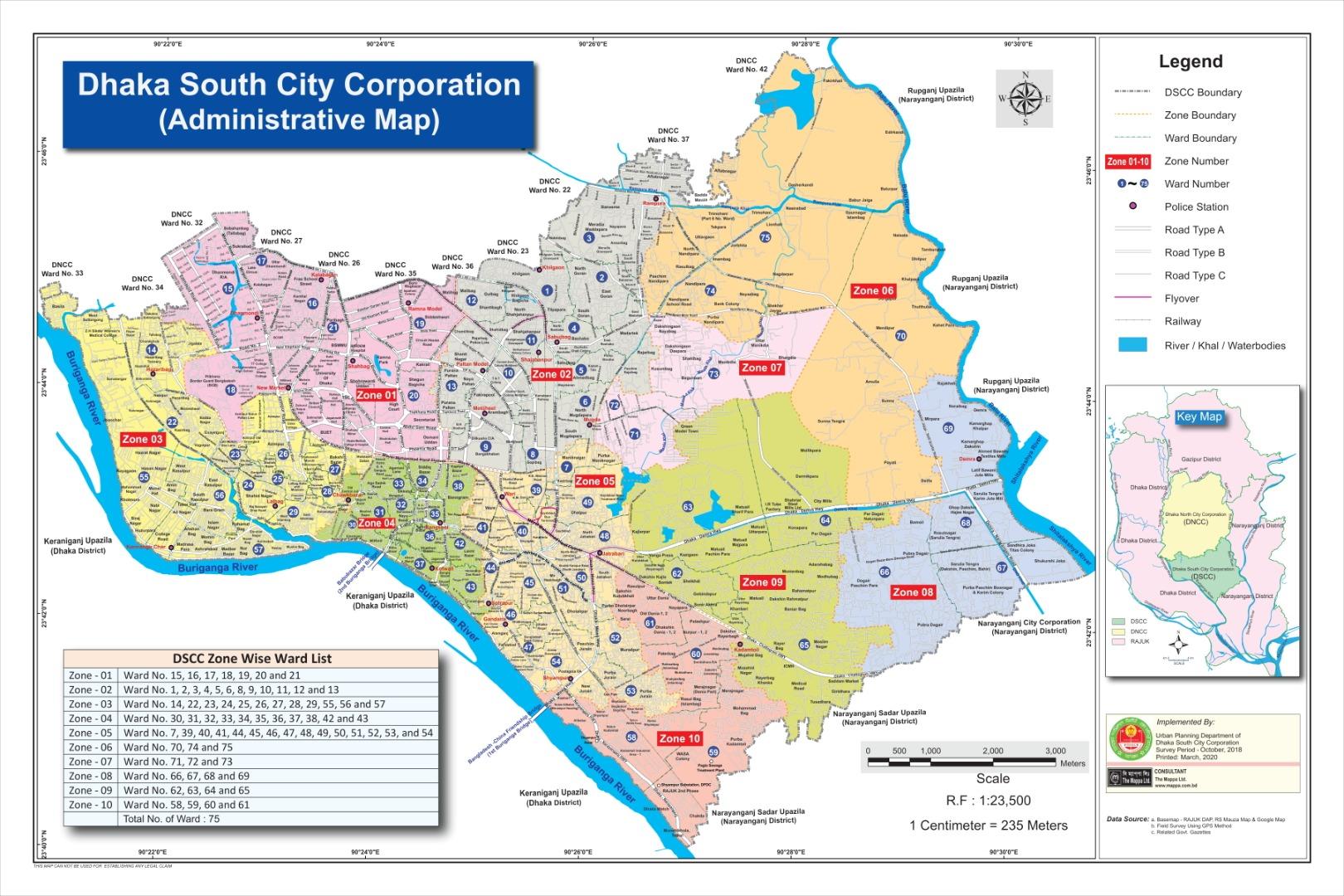 DSCC map