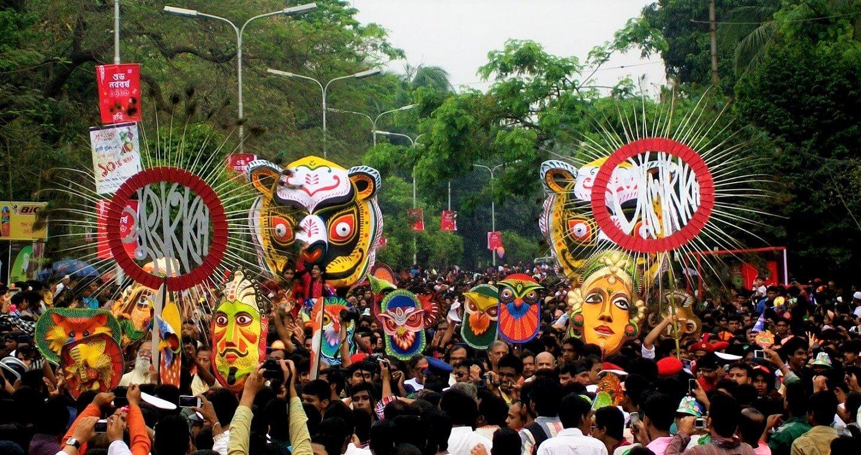 Pahela Baishakh Mangol Shobhajatra