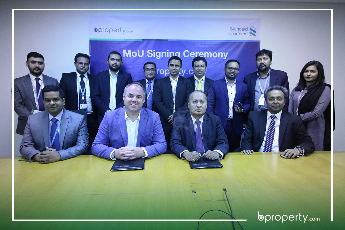 MOU signing between Bproperty and SCB