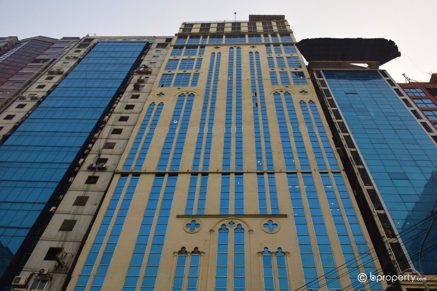 This building has reputation of being a top commercial real estate in Dhaka
