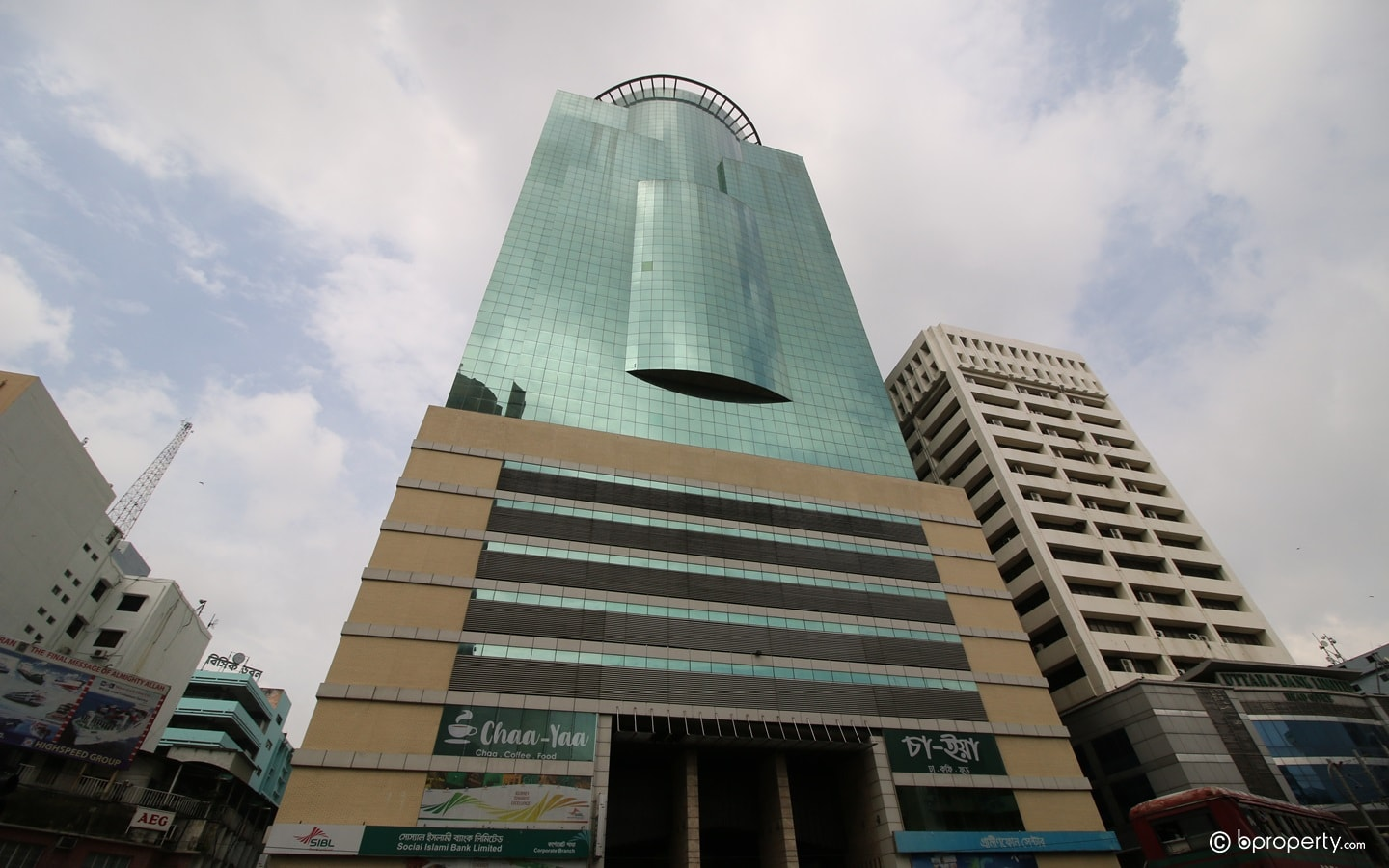 one of the most tallest buildings in Dhaka, the city centre