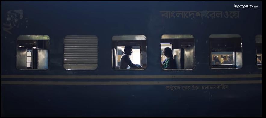 কমলাপুর রেল স্টেশন কিংবা জাদুর লাল গালিচার গল্প!