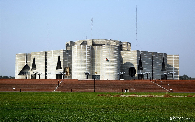 Jatiya Sangsad Bhaban tops the list of iconic buildings in Dhaka