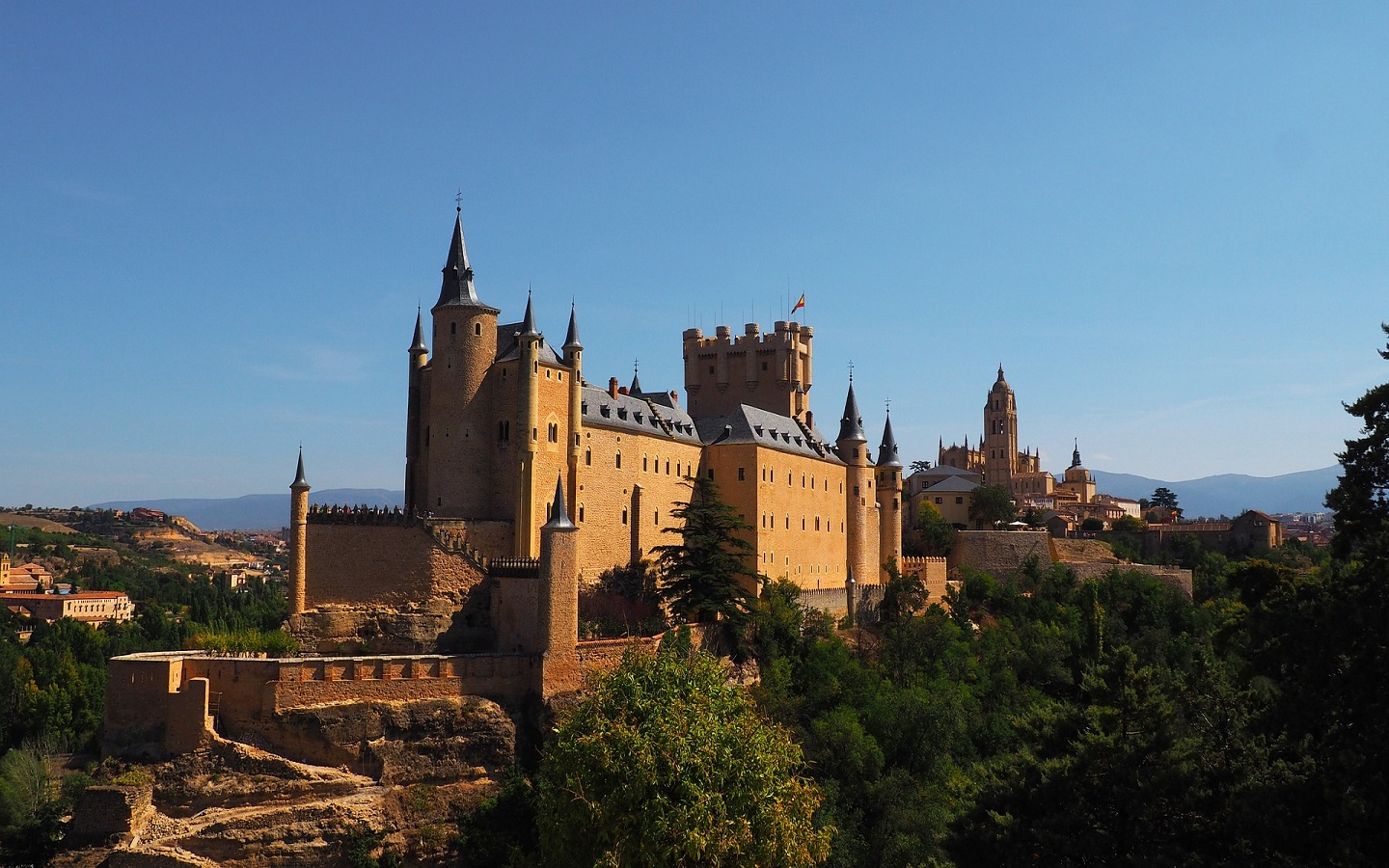 Alcazar of Segovia is one of the spots that inspired Disney movies