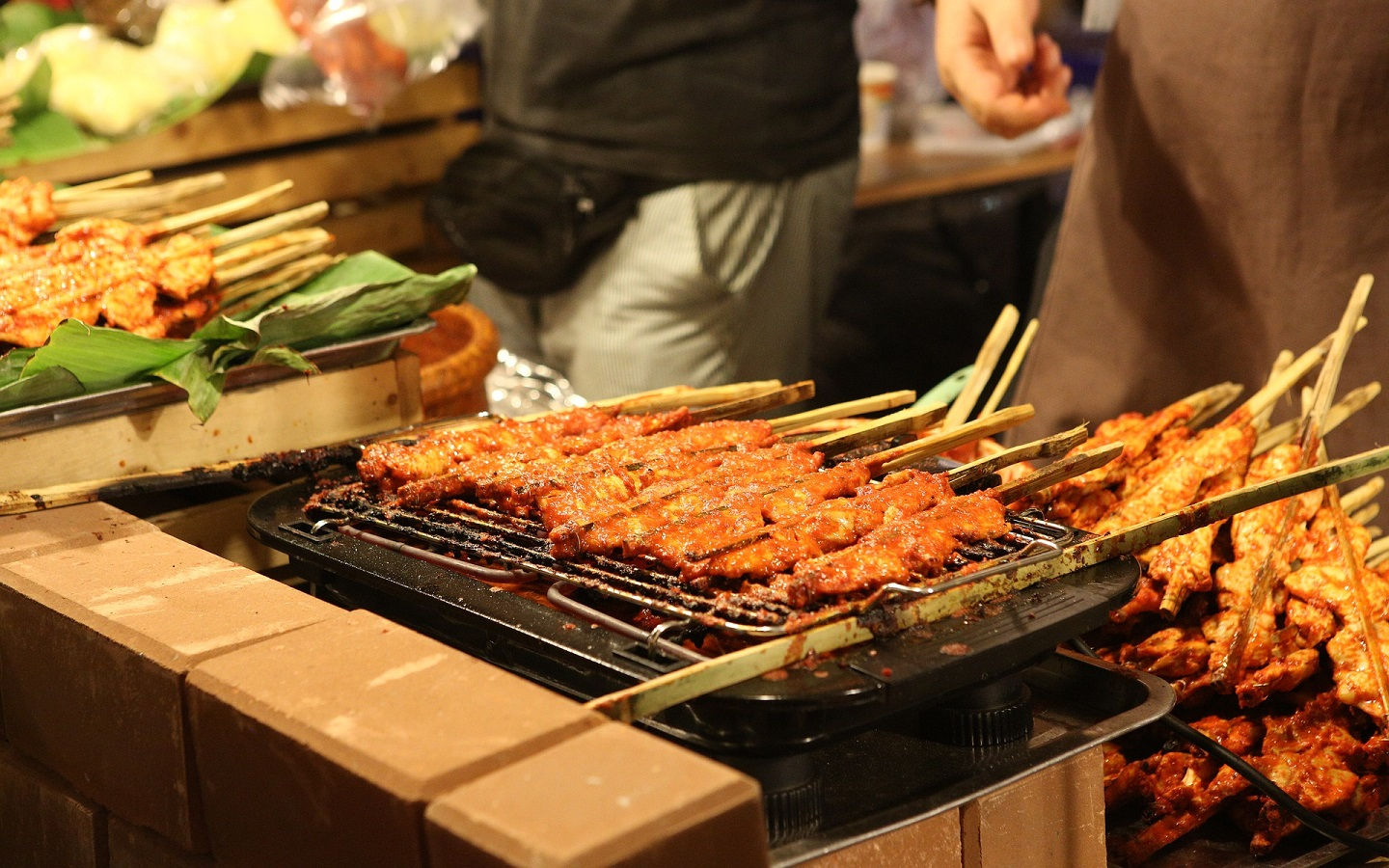 Sauteed Meat On Skewer