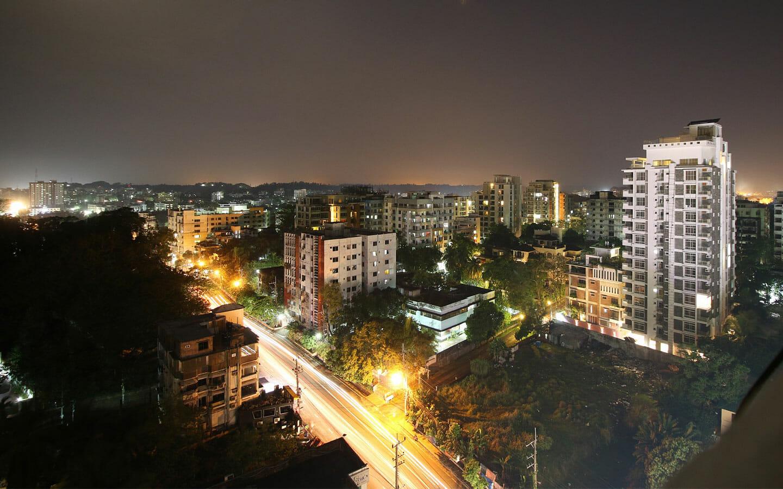 Cityscape Night View