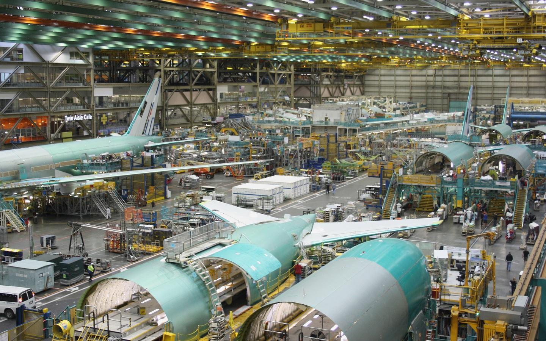 Inside the Boeing Everett Factory