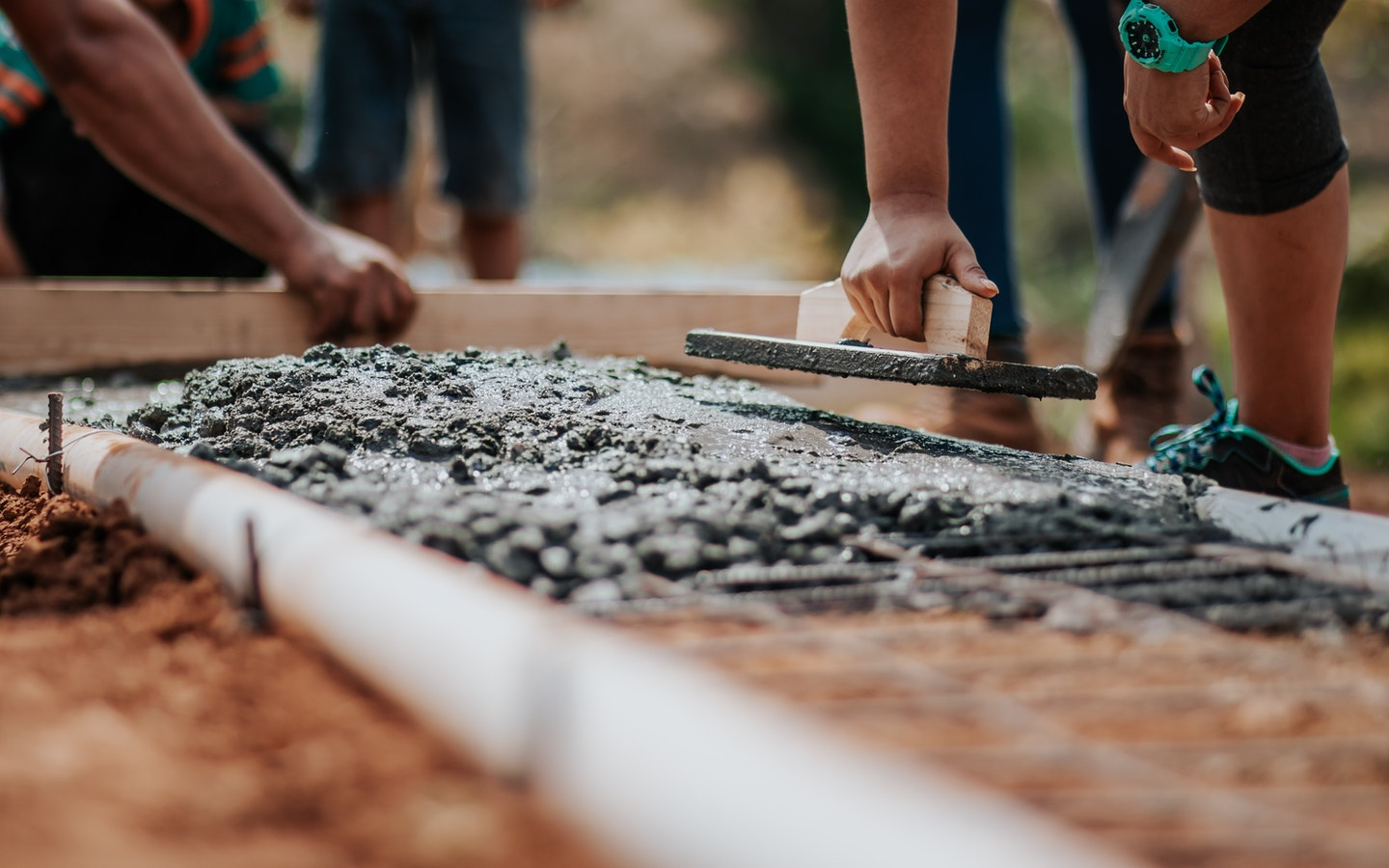 Building construction material: Cement