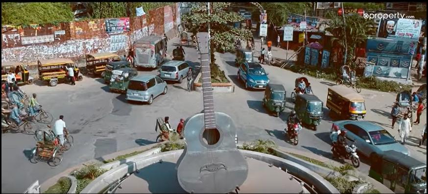 Rupali Guitar Statue