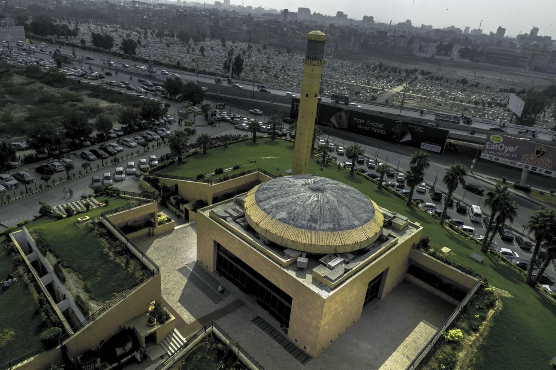 Farhan mosque in Karachi