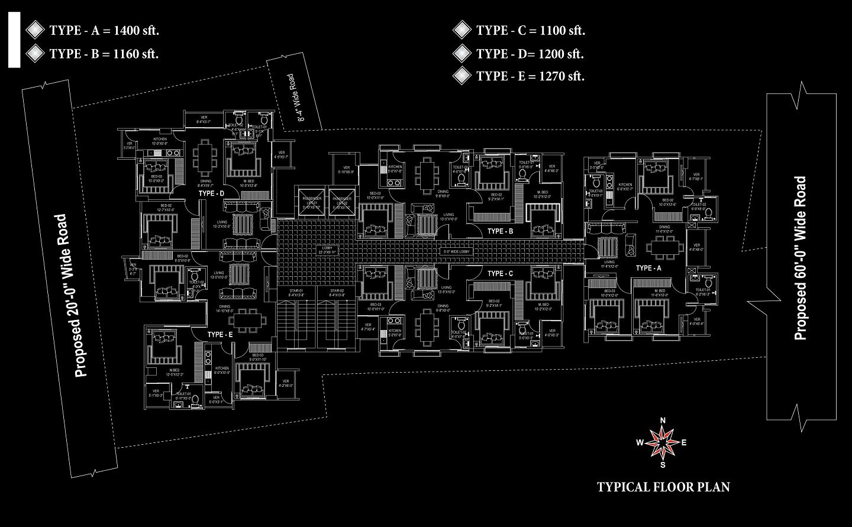 Theme Paradise Floor Plan
