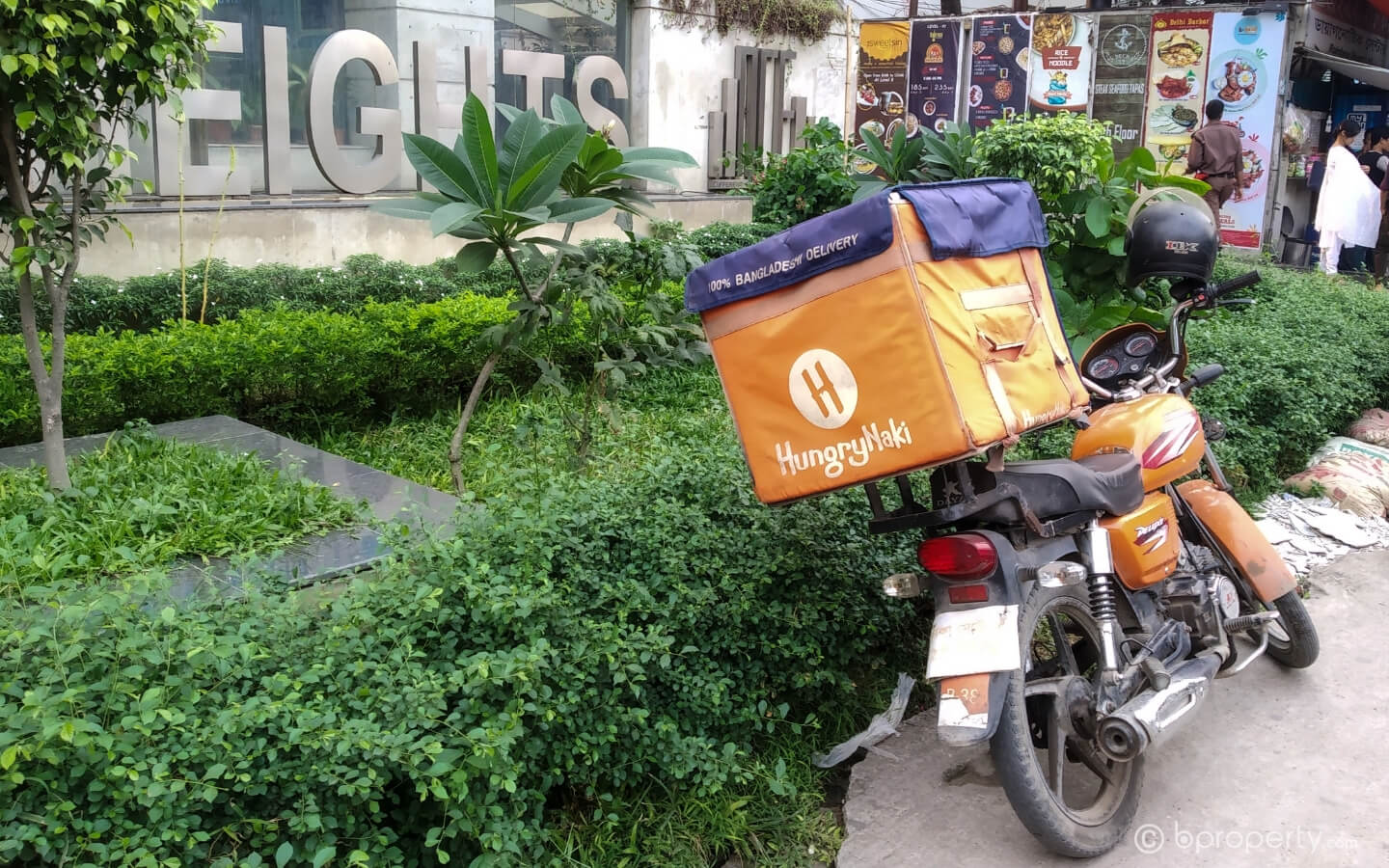 Food delivery services in Dhaka