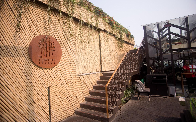 Cabin in private dhaka restaurant Karl's Cabin