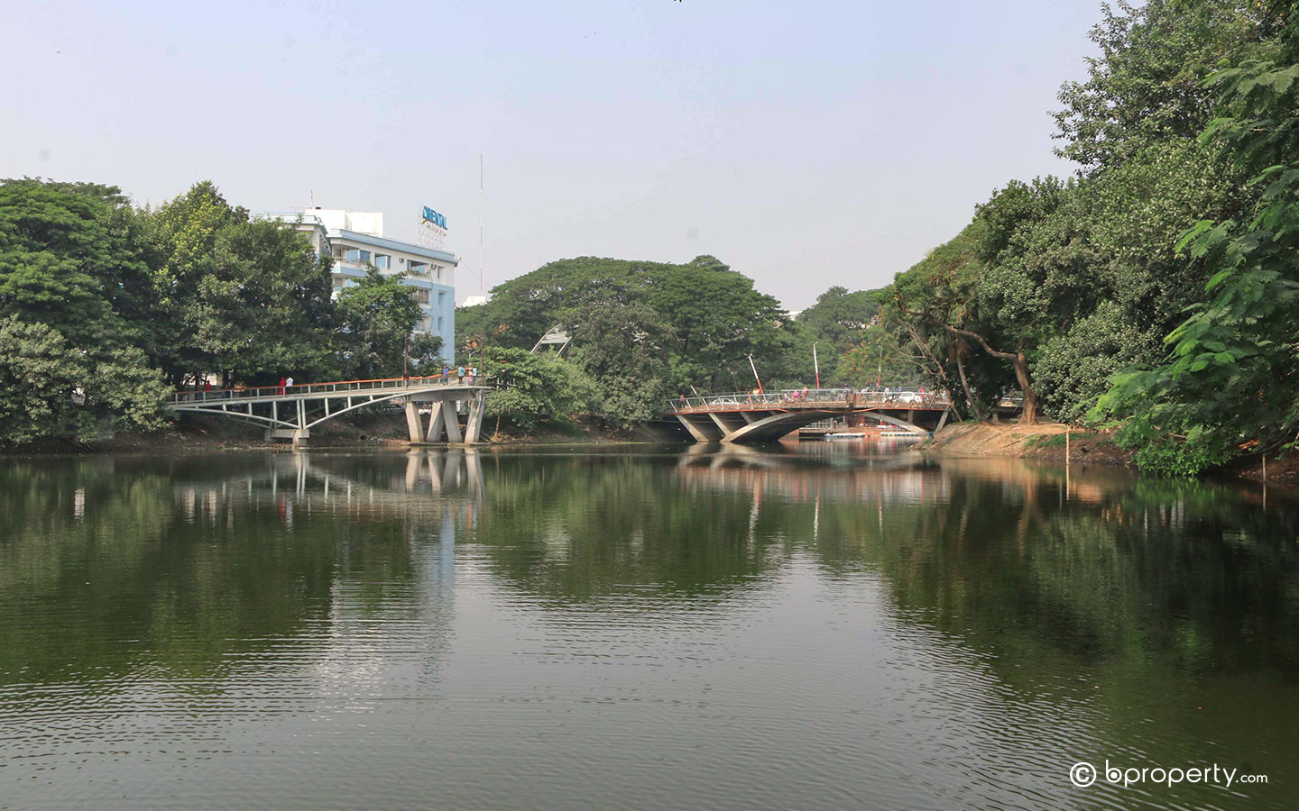 Dhanmondi lake is a common place for outdoor activities