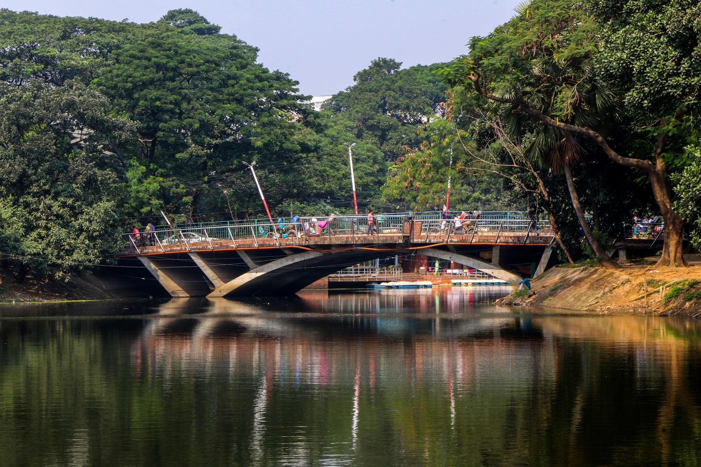 Dhanmondi 8 no bridge