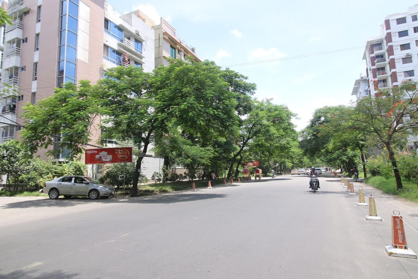 Self sustaining nature of Bashundhara is nonparallel to other suitable areas for expats in Dhaka