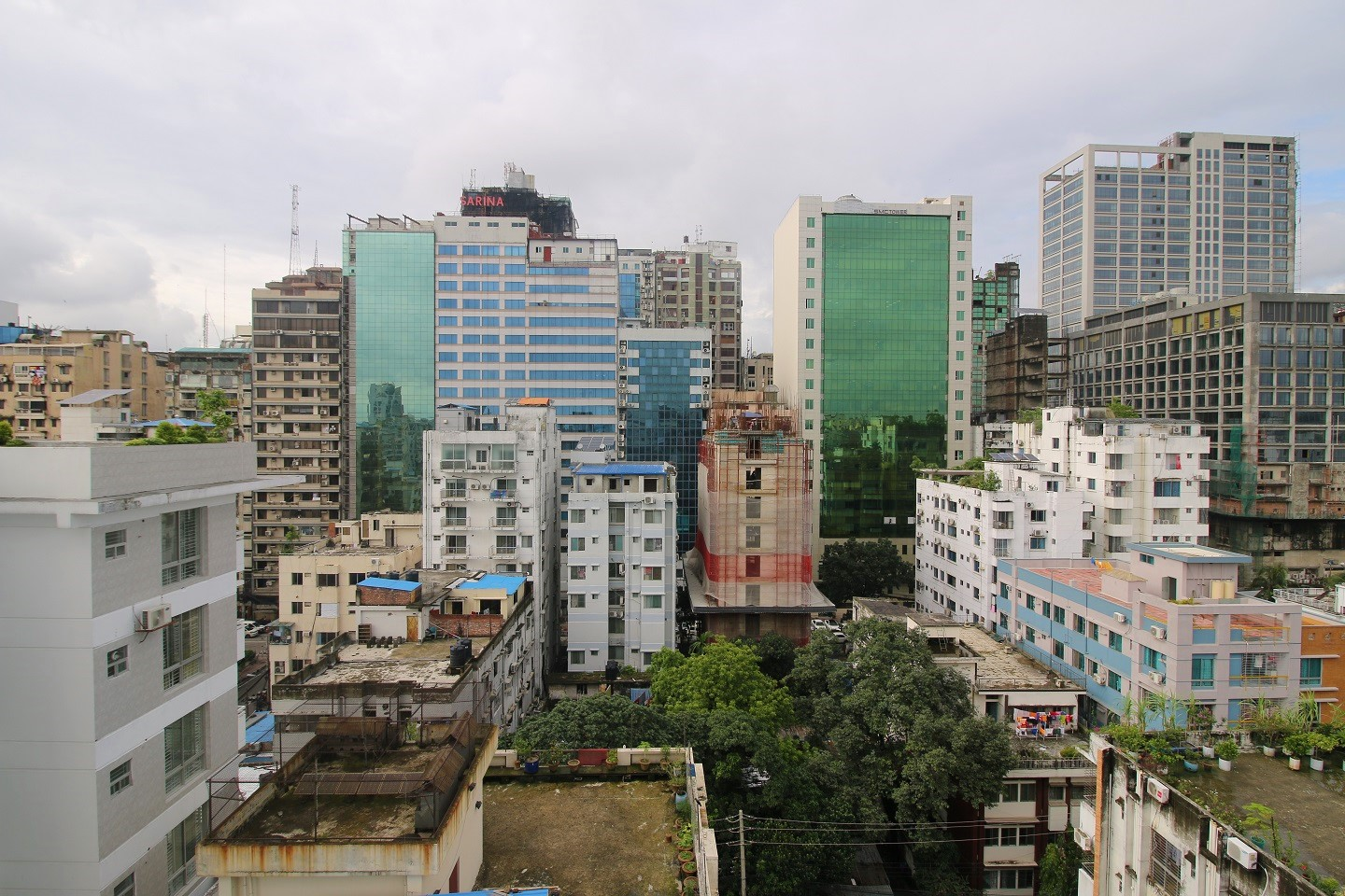 Bangladesh has a good urban development rate, which is a good indicator of the property market