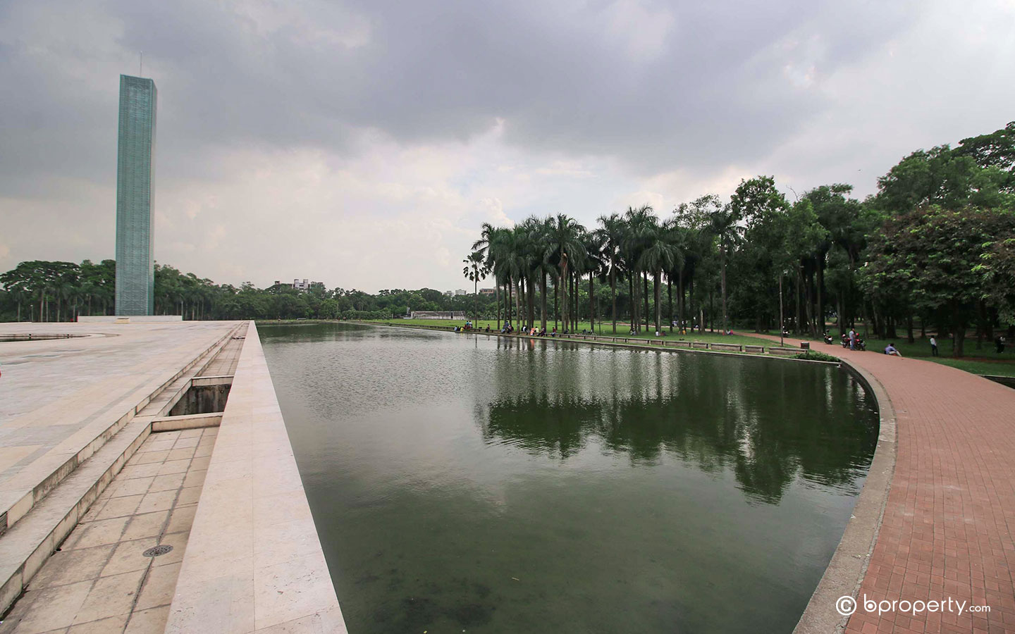 The park is one of the most popular parks to visit in Dhaka